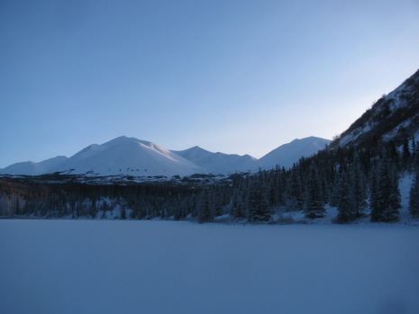 View of the pass from Swan Lake